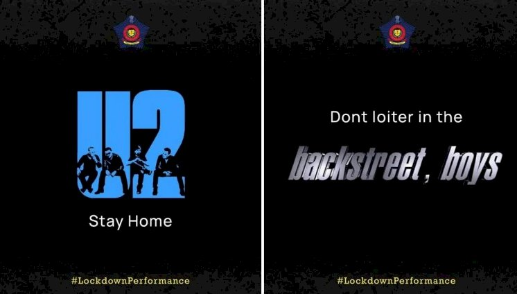Mumbai Police adds corona twist to famous band names. Which is your favourite?