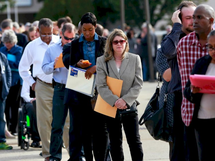 US unemployment rate surges to 14.7 per cent, worst since Great Depression