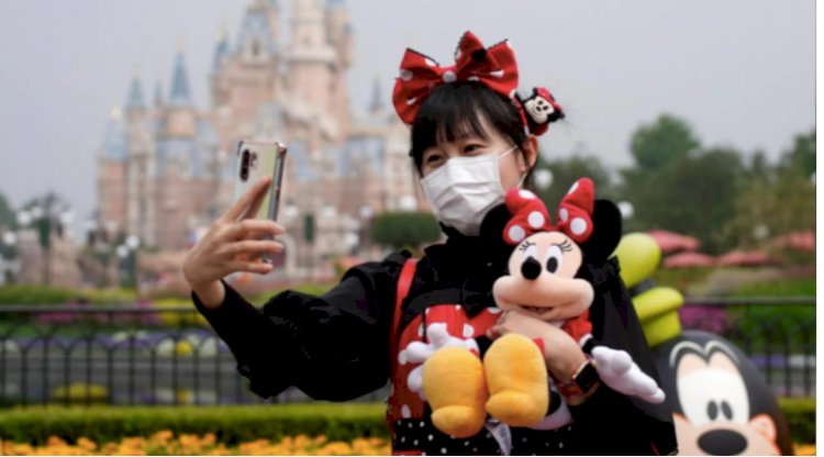 Shanghai Disneyland opens its gates for visitors with strict social distancing protocols