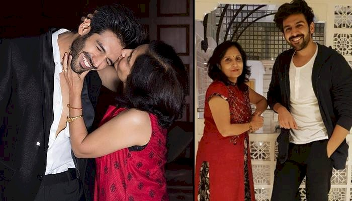 Kartik Aaryan asks mom to pay him for Mother's Day Instagram post.
