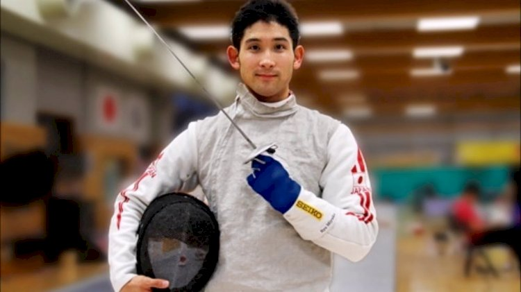 Japanese fencer Ryo Miyake now delivering food for Uber Eats in Tokyo to earn extra cash, maintain fitness