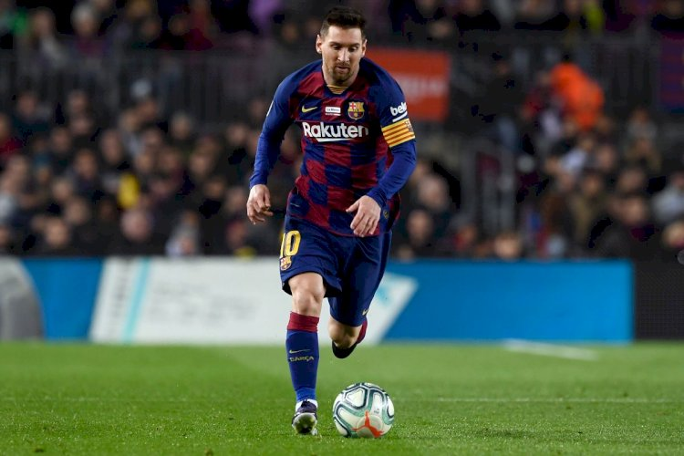 Lionel Messi says Covid-19 pandemic stoppage can benefit Barcelona