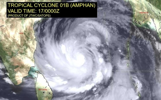 Cyclone Amphan intensifies into extremely severe storm ; Odisha, Bengal on alert
