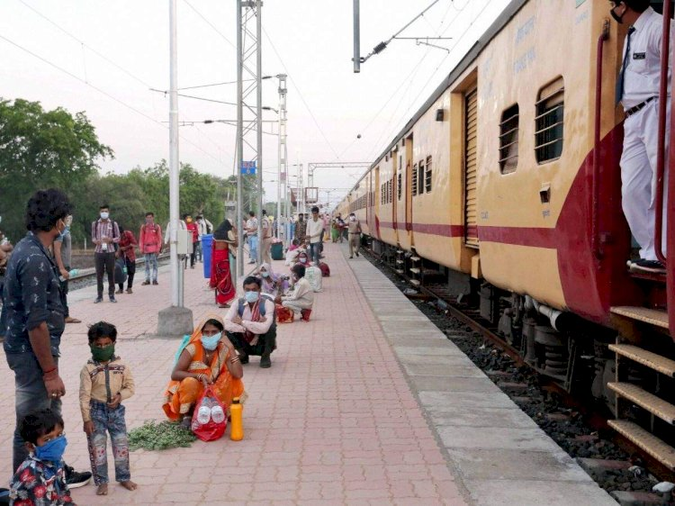 First Sharamik Special train for Nagaland ferries over 1,400 people from Chennai