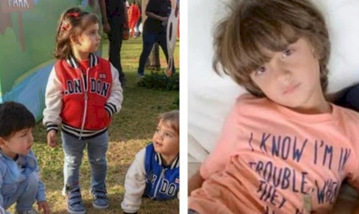 Yash and Roohi want to play with birthday boy AbRam and Taimur