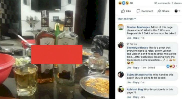 Whisky surprise on MHA page was a mix-up, person behind goof-up apologises