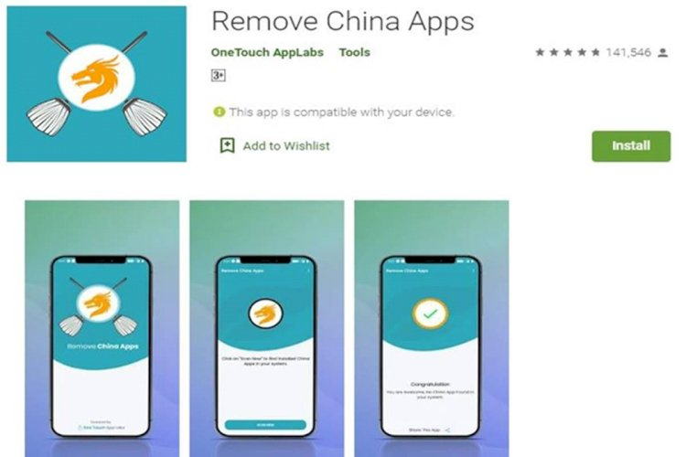 Remove China Apps garners 1 million downloads in India, gets 4.8 stars on Google Play Store