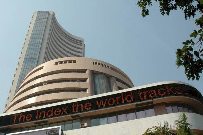 Sensex was up 284.01 points