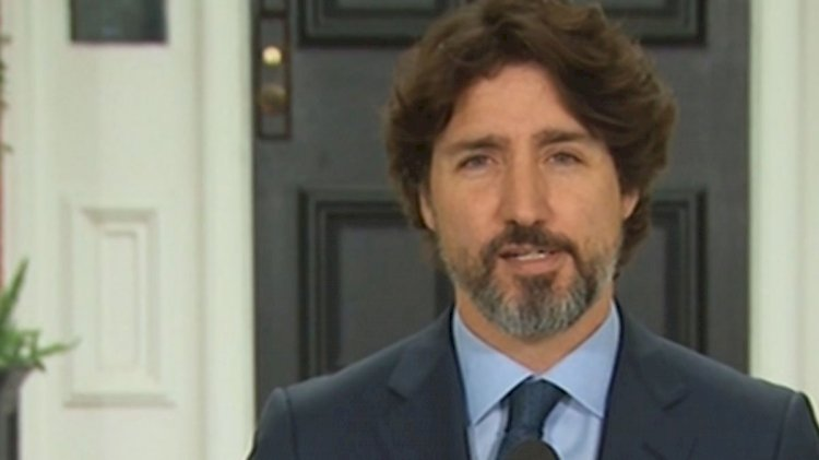 Canadian PM pauses when asked about US protests, avoids naming Trump