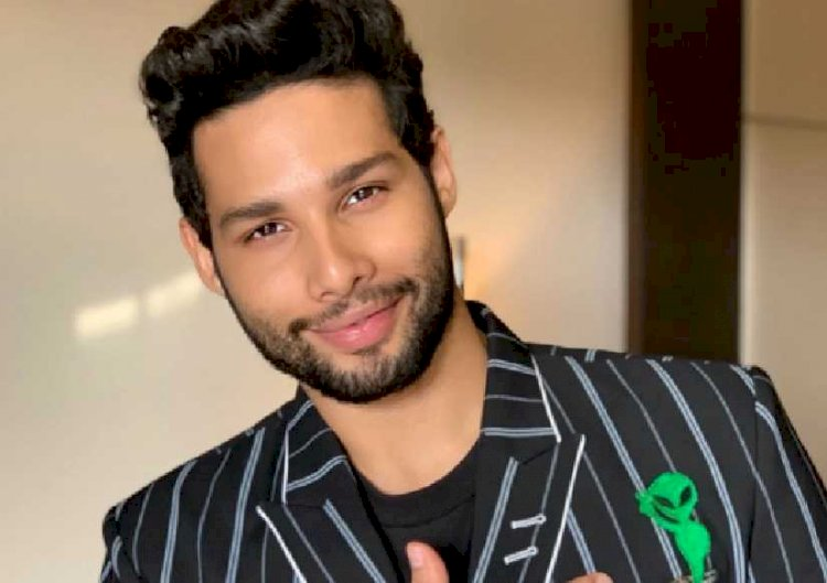 Siddhant Chaturvedi reveals the first look of his debut song Dhoop