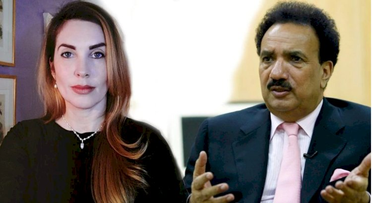 American blogger Cynthia D Ritchie says then Pakistani interior minister raped her, ex-PM molested her