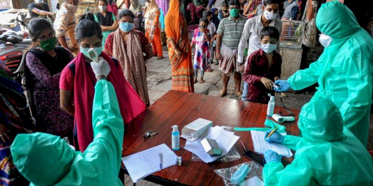 India records biggest single-day coronavirus spike with 9,996 cases, 357 deaths