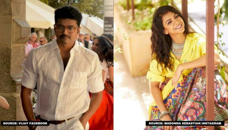 Madonna Sebastian to play female lead in Thalapathy Vijay's upcoming film with AR Murugadoss
