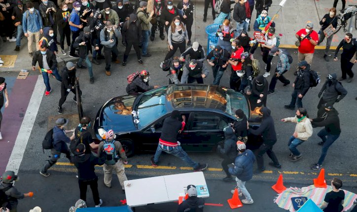 US: Man drives car into Seattle protest crowd, shoots bystander