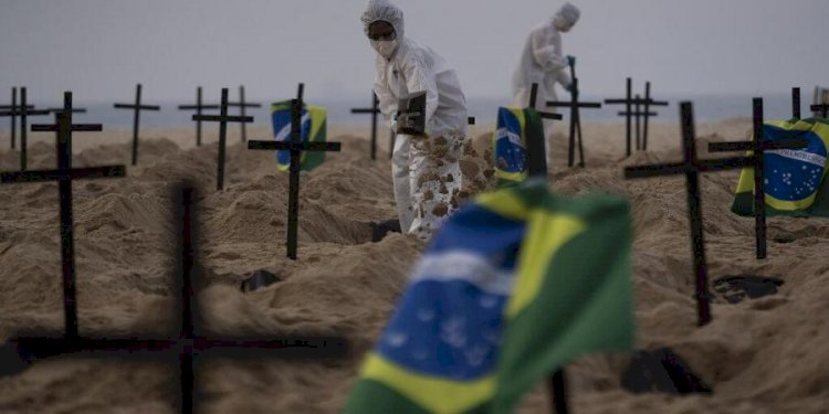 Brazil now has second highest Covid-19 death toll