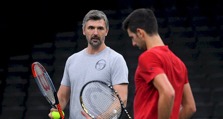 He tried to do a great and humanitarian thing: Goran Ivanisevic defends Novak Djokovic