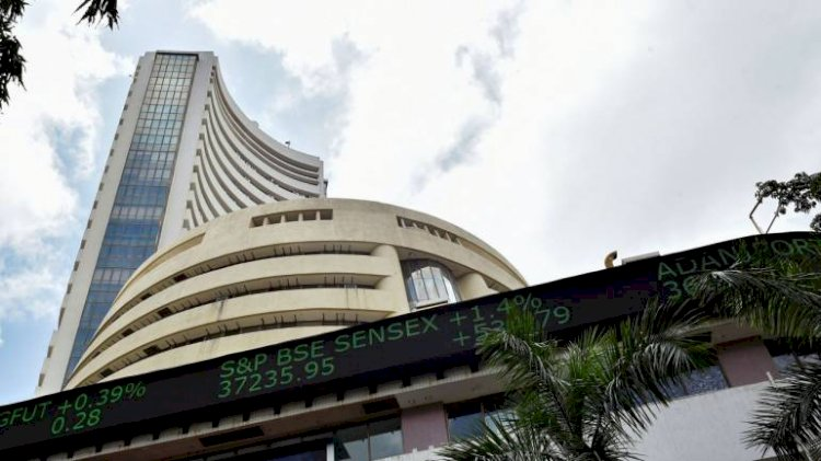 Sensex was down 26.88 points