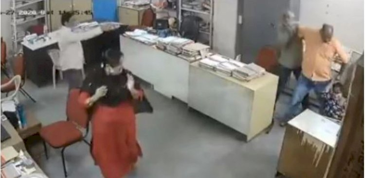 On being asked to wear mask, Andhra govt official thrashes differently-abled woman with iron rod