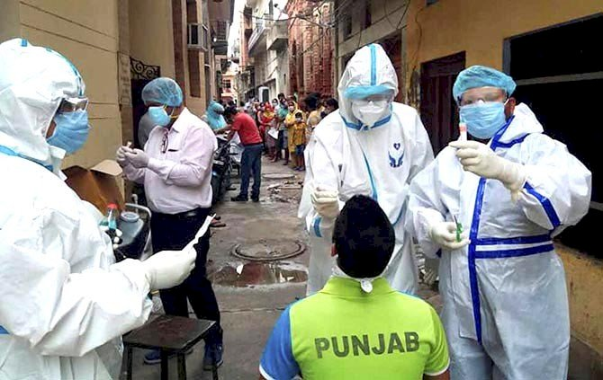 India sees biggest single-day jump of nearly 25,000 Covid-19 cases, 487 deaths