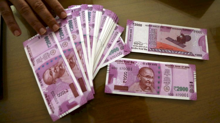 Indian rupee opened higher by 7 paise at 75.34 per dollar