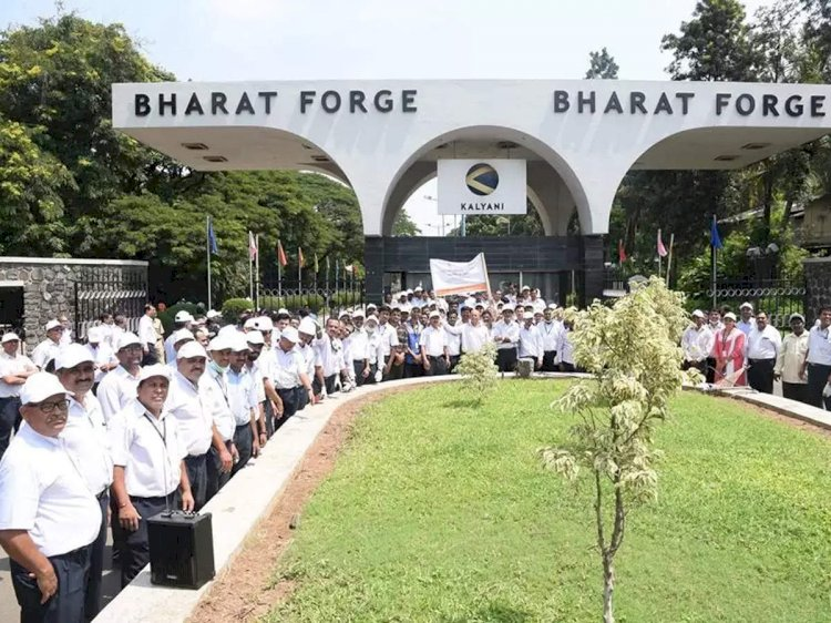Bharat Forge reports loss of Rs 127.32 crore in Q1; revenue plunges 50%