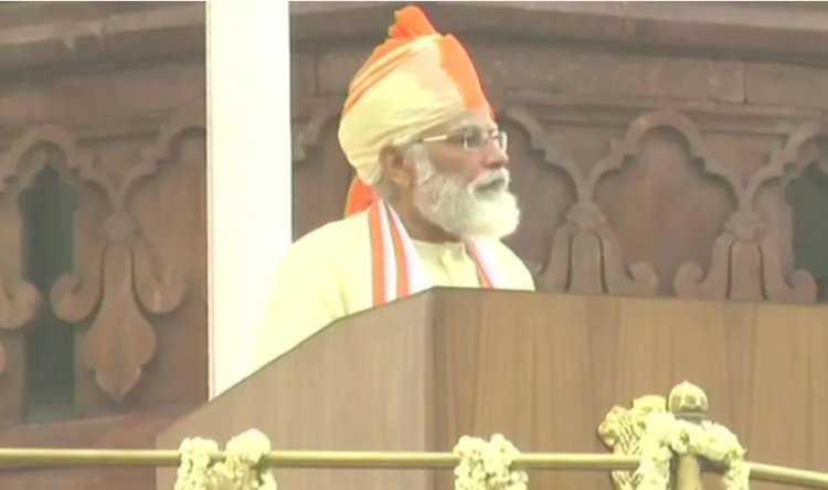 Independence Day: PM Modi says with Atmanirbhar Bharat, we should now make for world as well