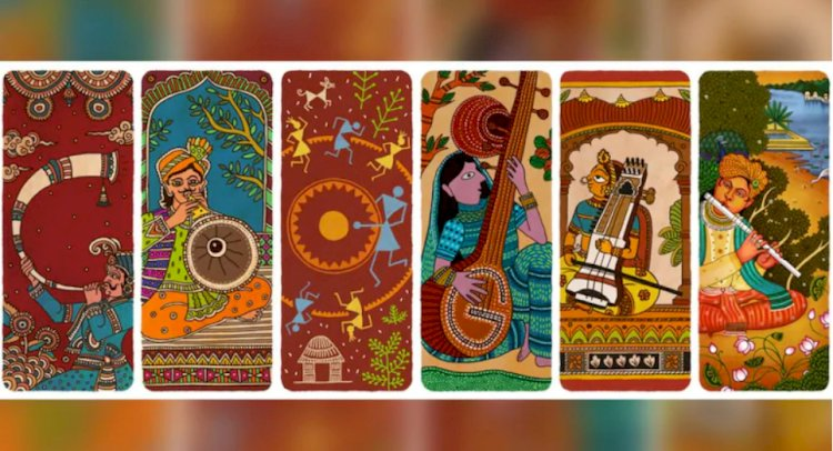 Google Doodle celebrates India's diverse culture and musical legacy on 74th Independence Day