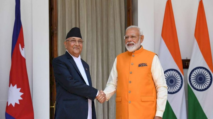 Nepal PM KPS Oli makes courtesy call to PM Narendra Modi for first time since map controversy