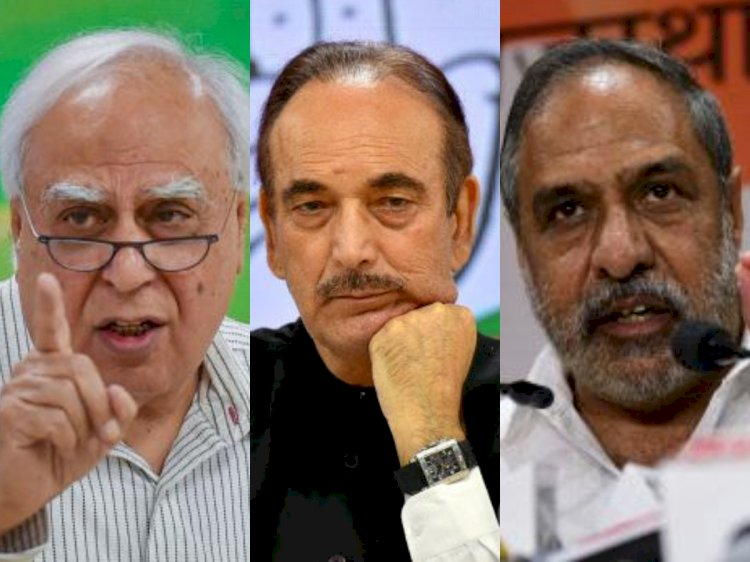 After CWC meet, few leaders met at Azad's house to discuss Congress resolution to keep Sonia Gandhi as chief