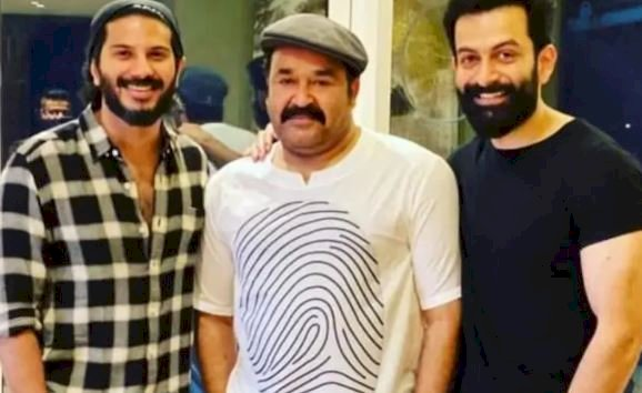 Prithviraj, Mohanlal and Dulquer Salmaan bond with each other in lockdown.