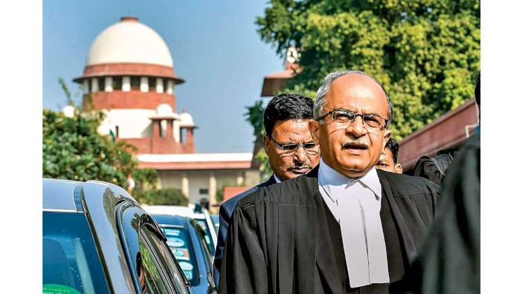 Supreme Court asks Prashant Bhushan to think over his charges against court, AG says he should be forgiven