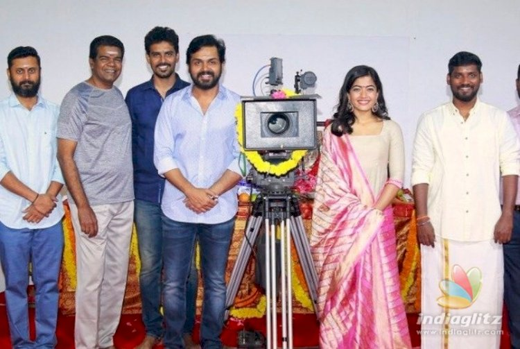 Sulthan: Karthi and Rashmika Mandanna film is nearing completion, release date yet to be decided