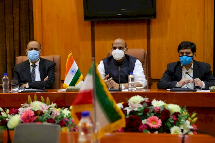 Rajnath Singh holds meeting with armed defence chiefs, NSA, CDS over LAC tension