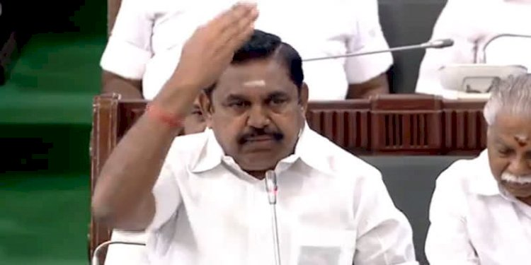 TN CM EPS accuses DMK for the suicide of 13 students due to NEET