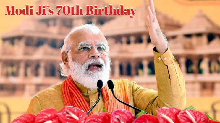 PM Modi turns 70 ,Political Leaders extends wishes