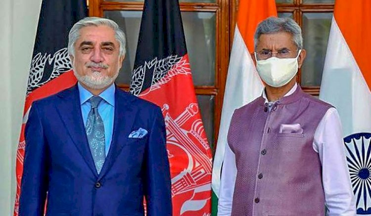 India committed to peace in Afghanistan: Jaishankar after meeting Abdullah Abdullah