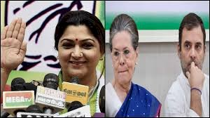 Khushbu Sundar resigns from Congress,  to join BJP today