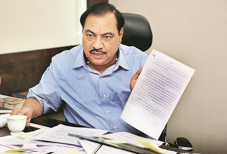 Senior Maharashtra leader Eknath Khadse quits BJP, to join NCP on Friday