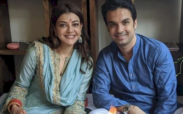 Gautam Kitchlu and Kajal Aggarwal all love in the grihapravesh picture