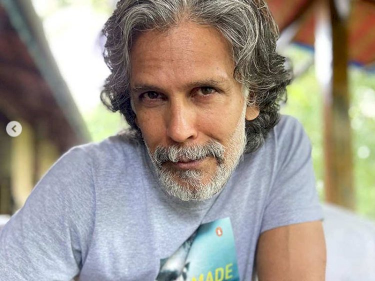 Milind Soman booked in Goa for running nude on beach