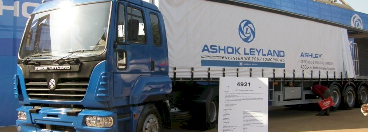 Ashok Leyland share price slips lower after reporting of Q2 loss