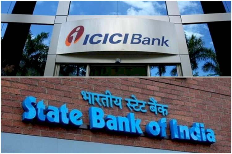 ICICI Bank and Bharti Airtel are the top gainers  ,ITC and SBI traded in the red.