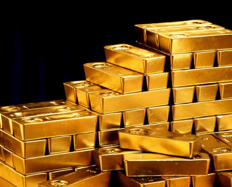 Gold futures trades steadily after fall of 5%