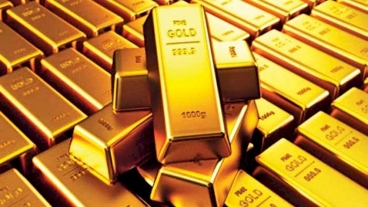 Gold metal trades lower by 0.18 percent at Rs 50,408 per 10 gram