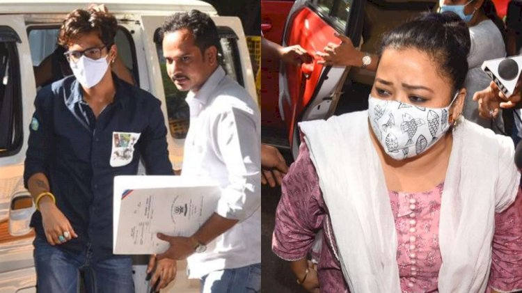 Comedian Bharti Singh, husband Haarsh Limbachiyaa granted bail in drug case