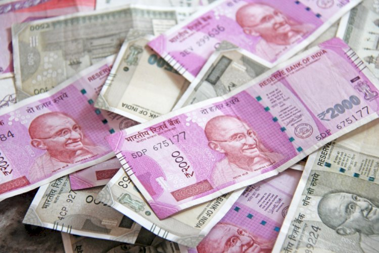 Indian rupee opened higher by 12 paise