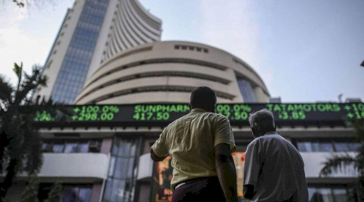 Market Close :Sensex was up 446.90 points