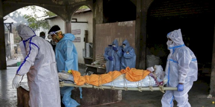 India's COVID-19 caseload rose to 1,02,66,674 with 21,821 new infections