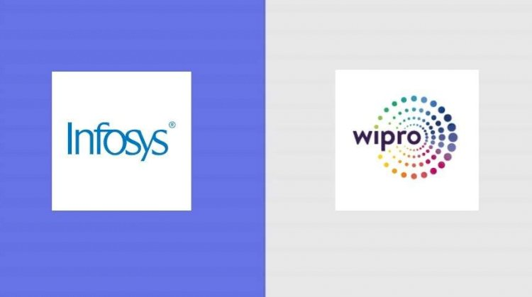 NSE : Infosys, Wipro were among top gainers