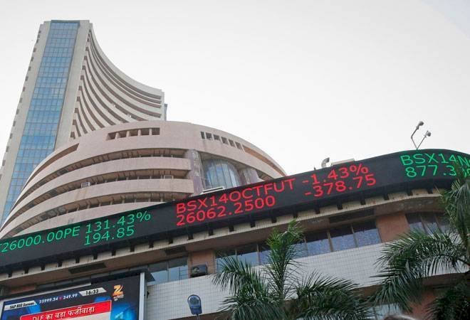 Market Opens :  Sensex was down 124.75 points